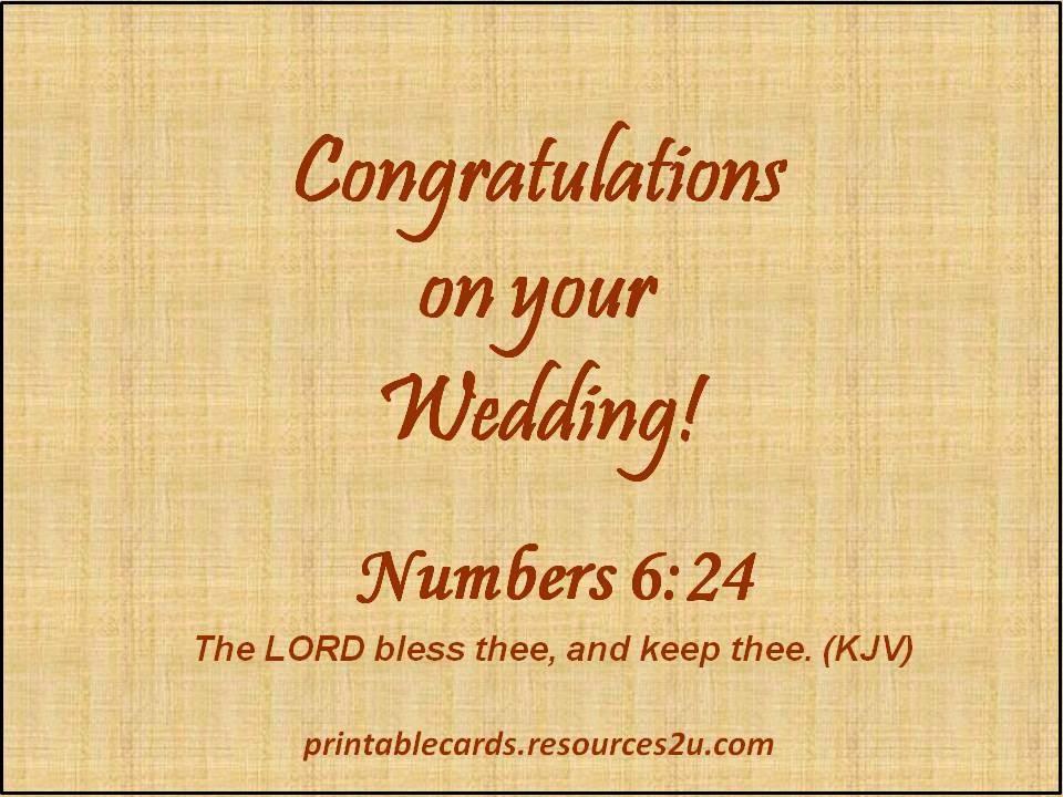 Kartu Ucapan Pernikahan dalam Bahasa Inggris yang ada di atas dapat
