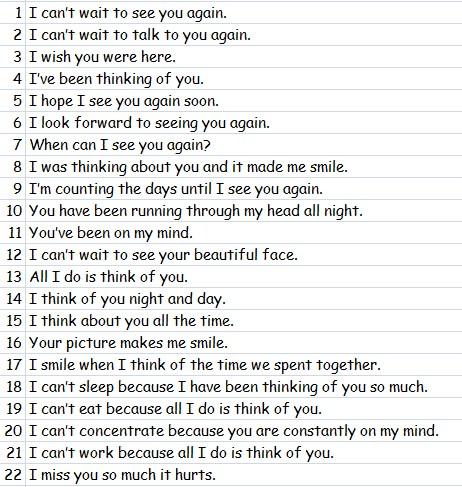 22 Cara Mengatakan I Miss You Dalam Bahasa Inggris