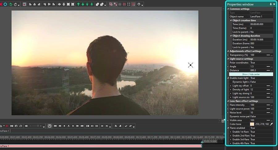 Mengatur-Flare-Settings-Pada-Video-dengan-Efek-Bokeh